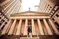 Federal Hall in New York City Stock Image