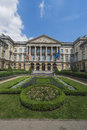 Federal parliament of belgium in brussels facade the Royalty Free Stock Photos