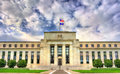 Federal Reserve Board of Governors in Washington, D.C. Royalty Free Stock Photo