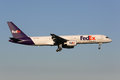 Fedex boeing stockholm sweden june a with the registration n fd on approach to stockholm airport arn in sweden is the world Stock Image