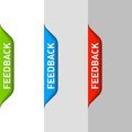 Feedback element Stock Photography