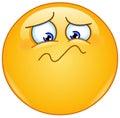 Feeling unwell emoticon