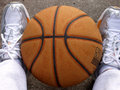 Feet Ball Royalty Free Stock Image