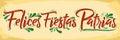 Šťastný dovolenka španielčina mexičan tému vlastenecký oslava