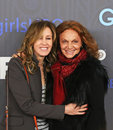 Felicity Huffman and Diane Von Furstenberg Stock Photography