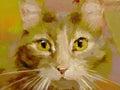 Feline - Digital Painting