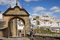 Felipe V Arch in Ronda Royalty Free Stock Photo