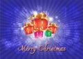 Feliz natal background Fotos de Stock