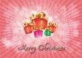 Feliz natal background Imagem de Stock