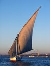 Felucca on the Nile Royalty Free Stock Photo