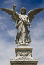 Female angel statue Royalty Free Stock Photo