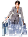 Female architect Stock Photos