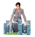 Female architect Stock Photography