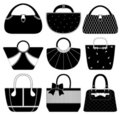 Female Bag Handbag Purse Fashion Woman Royalty Free Stock Images