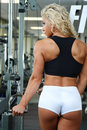 Female bodybuilder Royalty Free Stock Image