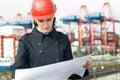 Female civil engineer Royalty Free Stock Photo