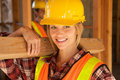 Female Constructin Worker Stock Images
