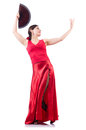 Female dancer dancing Royalty Free Stock Photo