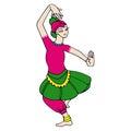 Žena tanečník