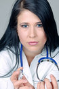 Female doctor portrait  Stock Photography