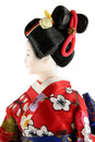 Female doll from Japan Royalty Free Stock Image