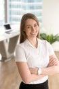 Female entrepreneur enjoys career achievements