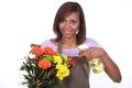 Female florist Royalty Free Stock Photo