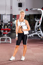 Female gym instructor Stock Photos