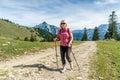 Female hiker Royalty Free Stock Photo