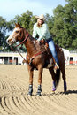 Female Horseback Rider Royalty Free Stock Photos