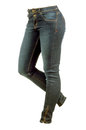 Female jeans trousers Royalty Free Stock Photo