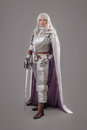 Female Knight In Shining Armour Royalty Free Stock Photo