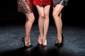 Female legs in high heels Royalty Free Stock Photo