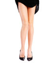 Female legs and high heels pretty woman s Stock Image