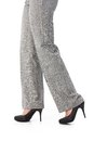 Female legs in trousers and high heels Royalty Free Stock Photo