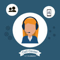 Female manager call center tools app