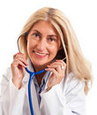 Female mature doctor Stock Photography