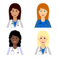Female medical team