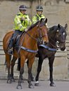 Female Mounted Police Officers Royalty Free Stock Image