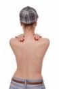 Female nude back Royalty Free Stock Photo