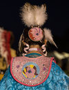 Female Pow-wow Dancer Royalty Free Stock Photo