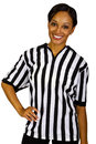 Female Referee Stock Image