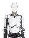 Female robot mannequin torso Royalty Free Stock Photo