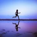 Female runner Royalty Free Stock Photo