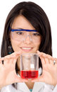 Female scientist Stock Images