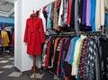 Female  shop interior Stock Photos