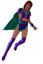 Female superhero Royalty Free Stock Photography