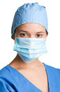 Female Surgeon Stock Photo
