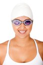Female swimmer Royalty Free Stock Photos