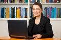 Female teacher tutor professor consultant Royalty Free Stock Photo